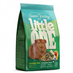 Корм для морских свинок Little One Green Valley Guinea Pigs из разнотравья 750 г