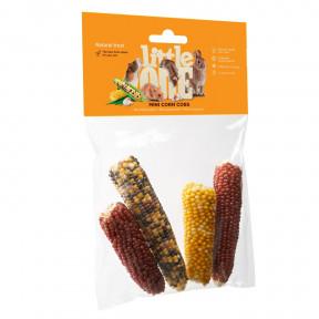 Лакомство для кроликов, грызунов Little One Mini corn cobs 130 г