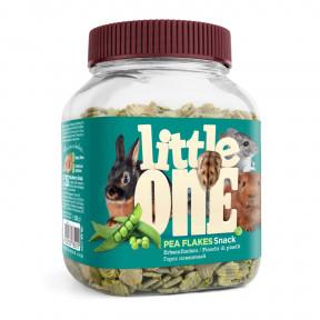 Лакомство для кроликов, грызунов Little One Snack Pea flakes горошек плющеный 230 г