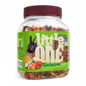 Лакомство для кроликов, грызунов Little One Snack Vegetable mix Овощная смесь 150 г