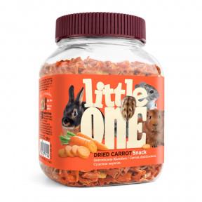 Лакомство для кроликов, грызунов Little One Snack Dried carrot сушеная морковь 200 г
