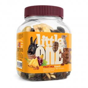 Лакомство для кроликов, грызунов Little One Snack Fruit mix фруктовая смесь 200 г