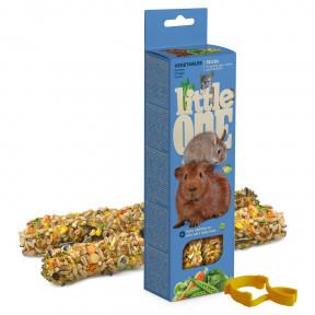 Лакомство для кроликов, грызунов Little One Sticks Vegetables с овощами 2 шт 60 г