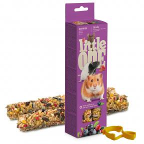 Лакомство для грызунов Little One Sticks Berries с ягодами 2 шт 60 г