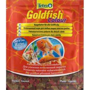 Сухой корм для рыб Tetra Goldfish Colour для улучшения окраса золотых рыбок 12 г