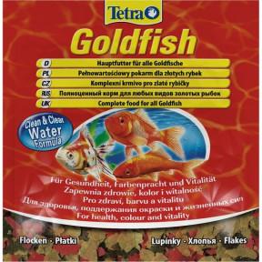 Сухой корм для рыб Tetra Goldfish для всех видов золотых рыбок 12 г