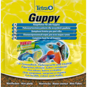 Сухой корм для рыб Tetra Guppy для гуппи 12 г