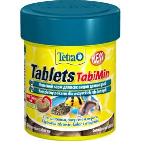 Сухой корм для рыб Tetra Tablets TabiMin для всех видов донных рыб 58 таб