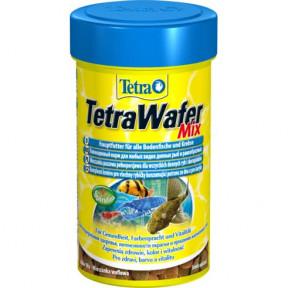 Сухой корм для рыб Tetra WaferMix для донных рыб и ракообразных 100 мл