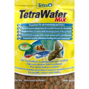 Сухой корм для рыб Tetra WaferMix для донных рыб и ракообразных 15 г