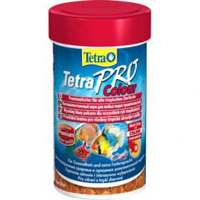 Сухой корм для рыб Tetra TetraPro Color Crisps для улучшения окраса 100 мл