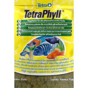 Сухой корм для рыб Tetra TetraPhyll для тропических рыб 12 г