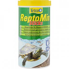Сухой корм для рептилий Tetra ReptoMin Sticks для водных черепах 100 мл