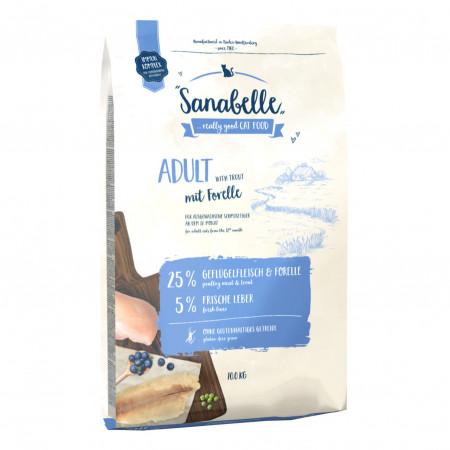 Сухой корм для кошек Sanabelle Adult с форелью 2 кг