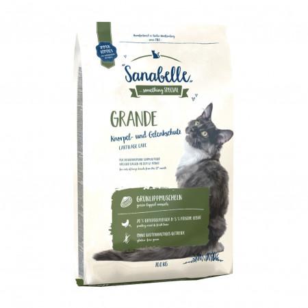 Сухой корм для кошек крупных пород Sanabelle Grande с домашней птицей 2 кг