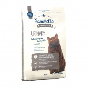 Сухой корм для кошек Sanabelle Urinary для профилактики МКБ, с домашней птицей 10 кг