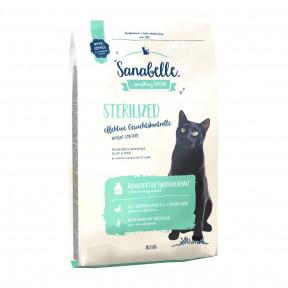 Сухой корм для стерилизованных кошек Sanabelle Sterilized Weight Control для контроля лишнего веса, с домашней птицей 10 кг