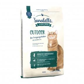 Сухой корм для кошек живущих на улице Sanabelle Outdoor с уткой 10 кг