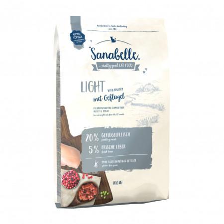 Сухой корм для кошек Sanabelle Light для профилактики избыточного веса 2 кг