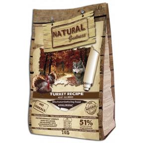 Сухой корм для собак Natural Greatness Turkey Recipe Adult All Breed беззерновой, с индейкой, с уткой, с курицей 2 кг