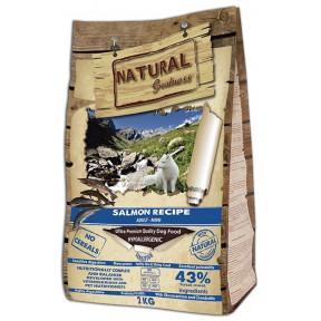 Сухой корм для собак Natural Greatness Salmon Recipe Adult Mini беззерновой, с лососем, с картофелем (для мелких пород) 2 кг