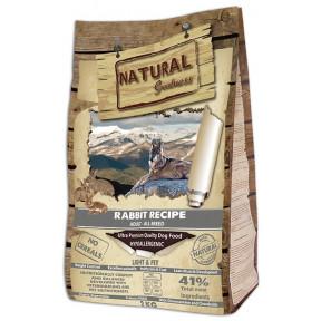 Сухой корм для взрослых и пожилых собак Natural Greatness Rabbit Recipe Light & Fit беззерновой, при склонности к избыточному весу, с кроликом 2 кг