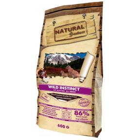 Сухой корм для кошек и котят Natural Greatness Wild Instinct Cat & Kitten беззерновой, с курицей, с индейкой 600 г