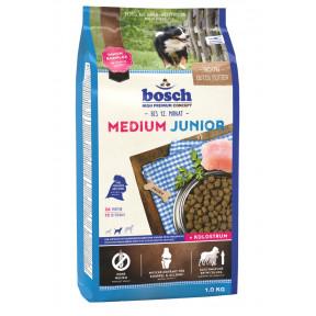 Сухой корм для щенков Bosch Junior Medium с домашней птицей (для средних пород) 1 кг