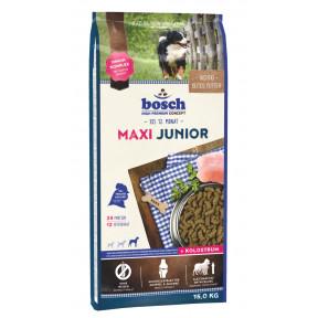 Сухой корм для щенков Bosch Junior Maxi с домашней птицей (для крупных пород) 15 кг
