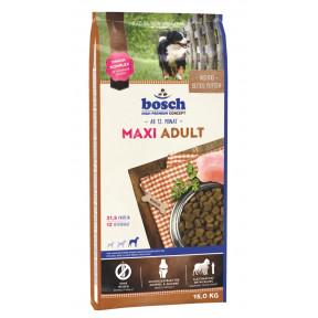 Сухой корм для собак Bosch Maxi Adult для здоровья костей и суставов, с домашней птицей (для крупных пород) 15 кг