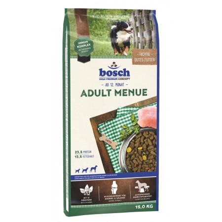 Сухой корм для собак Bosch Adult Menue при повышенной активности, с домашней птицей 15 кг
