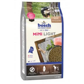Сухой корм для собак Bosch Mini Light при склонности к избыточному весу, с домашней птицей (для мелких пород) 1 кг