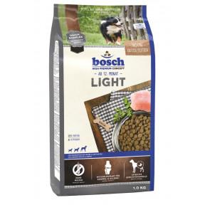 Сухой корм для собак Bosch Light при склонности к избыточному весу, с домашней птицей 1 кг