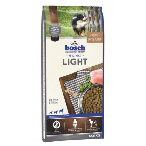 Сухой корм для собак Bosch Light при склонности к избыточному весу, с домашней птицей 12.5 кг
