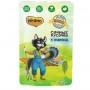 Влажный корм для кошек Мнямс Кот Федор рекомендует Фермерская ярмарка, сочные кусочки с индейкой 85 г