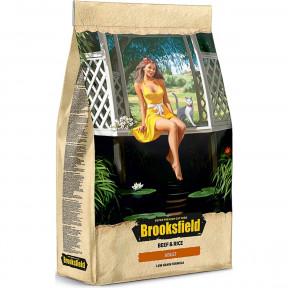 Сухой корм для взрослых кошек BROOKSFIELD Adult низкозерновой, с говядиной с рисом 2 кг