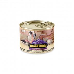 Влажный корм для собак BROOKSFIELD Adult Small Breed с говядиной, с ягненком и с коричневым рисом (для мелких пород) 200 г