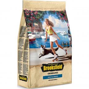 Сухой корм для собак BROOKSFIELD Adult All Breed низкозерновой, с курицей с рисом 12 кг