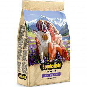 Сухой корм для собак BROOKSFIELD Adult Large Breed низкозерновой, с курицей с рисом (для крупных пород) 12 кг