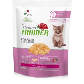 Сухой корм для котят от 1 до 6 месяцев Natural TRAINER Kitten с курицей 300 г