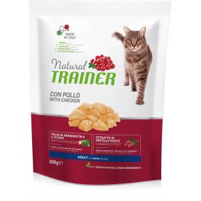 Сухой корм для кошек Natural TRAINER Adult с курицей 300 г