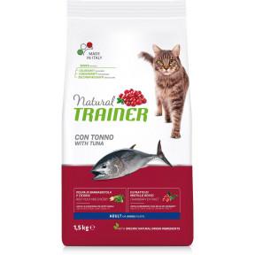 Сухой корм для кошек Natural TRAINER Adult с тунцом 1.5 кг