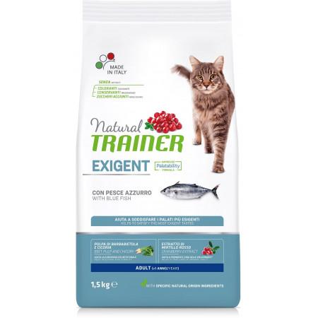 Сухой корм для привередливых кошек Natural TRAINER Adult Exigent with Ocean fish с океанической рыбой 1.5 кг