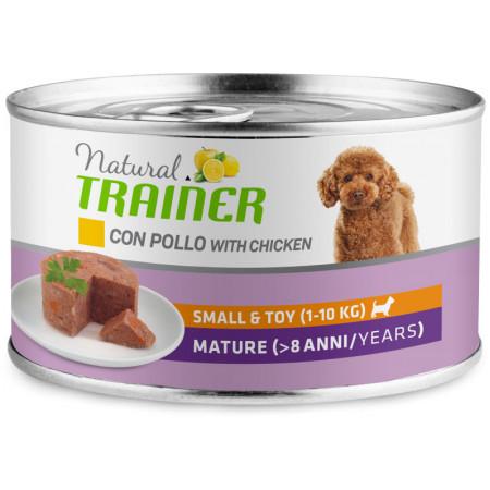 Влажный корм для пожилых собак Natural TRAINER Small & Toy Mature c курицей 150 г