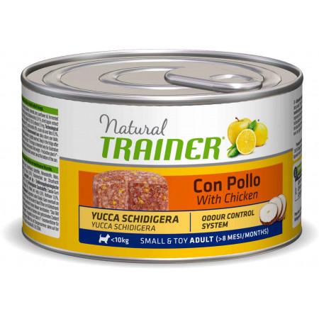 Влажный корм для собак Natural TRAINER Small & Toy Adult с курицей (для мелких и миниатюрных пород) 150 г