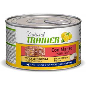 Влажный корм для собак Natural TRAINER Small & Toy Adult c говядиной (для мелких и миниатюрных пород) 150 г