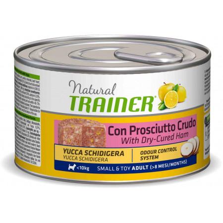 Влажный корм для собак Natural TRAINER Small & Toy Adult c сыровяленной ветчиной (для мелких и миниатюрных пород) 150 г