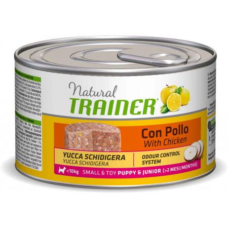 Влажный корм для щенков и юниоров Natural TRAINER Small & Toy Puppy & Junior c курицей (для мелких и миниатюрных пород) 150 г