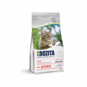 Сухой корм для кошек крупных пород BOZITA Large с лососем 400 г