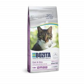 Сухой корм для кошек BOZITA Hair & Skin для здоровья кожи и шерсти с лососем 2 кг